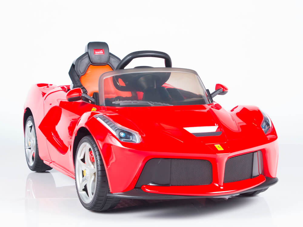 Kids Official Exotic 12v Laferrari Ride On Car Red
