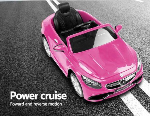 Kidsvip Mrcedes S63 Ride On Car 12