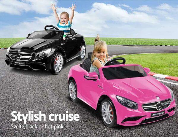 Kidsvip Mrcedes S63 Ride On Car 6