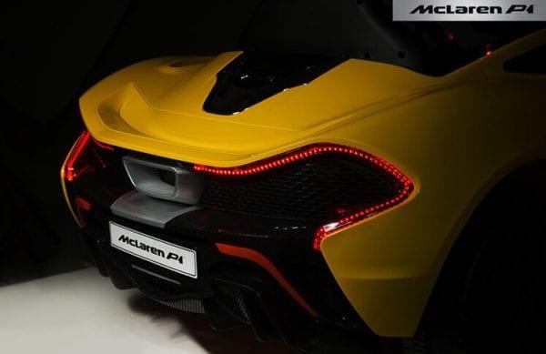 Mclaren P1 Yellow 20