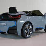 Bmw I8 Ride On Car Blue 10