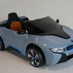 Bmw I8 Ride On Car Blue 7