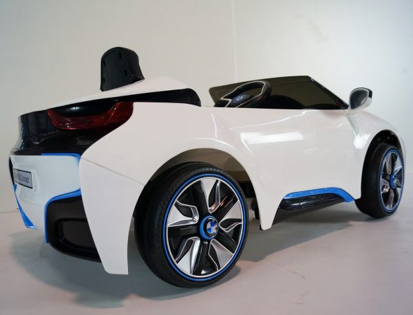 Bmw I8 White Ride On Car 4