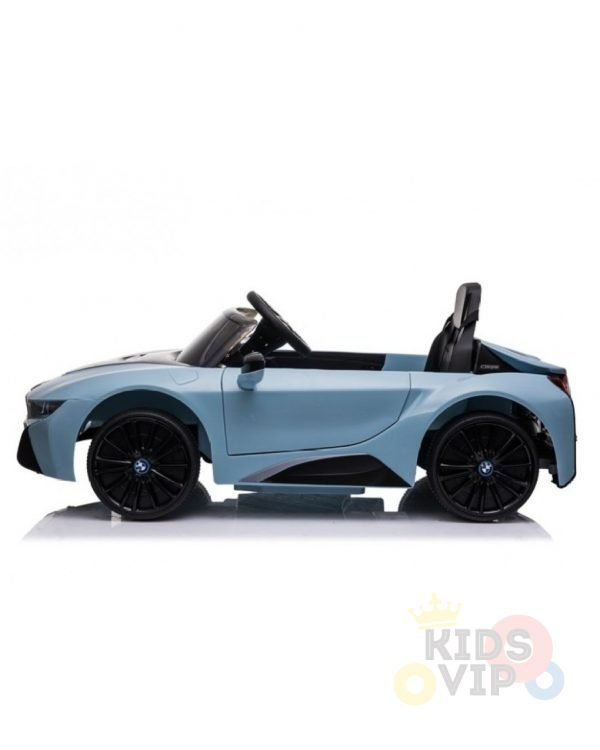 bmw i8 coupe kids and toddlers ride on car 12v remote kidsvip blue 33