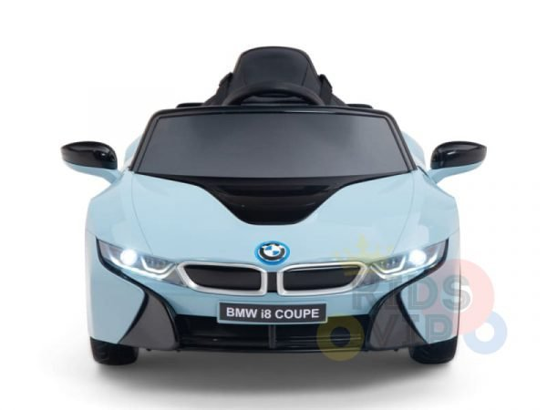 bmw i8 coupe kids and toddlers ride on car 12v remote kidsvip blue 40