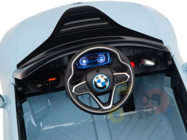 bmw i8 coupe kids and toddlers ride on car 12v remote kidsvip blue 43