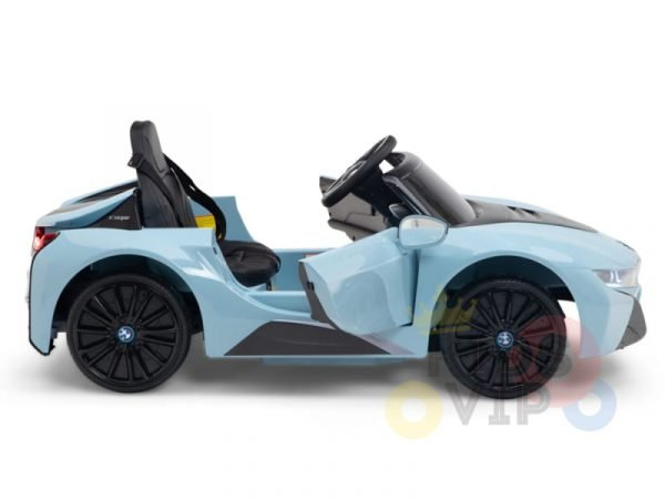 bmw i8 coupe kids and toddlers ride on car 12v remote kidsvip blue 44