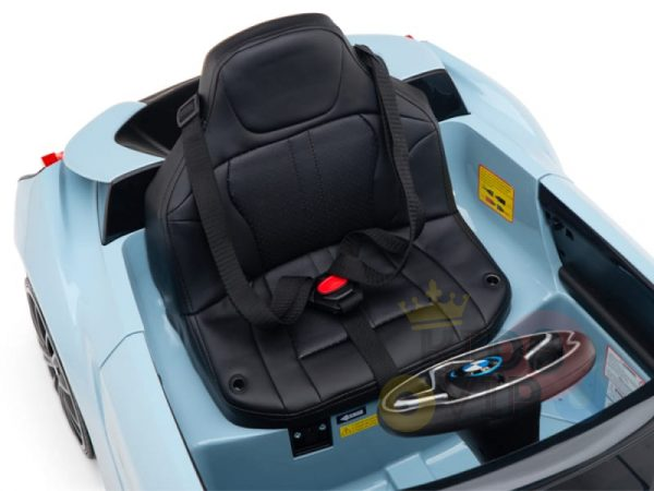 bmw i8 coupe kids and toddlers ride on car 12v remote kidsvip blue 48