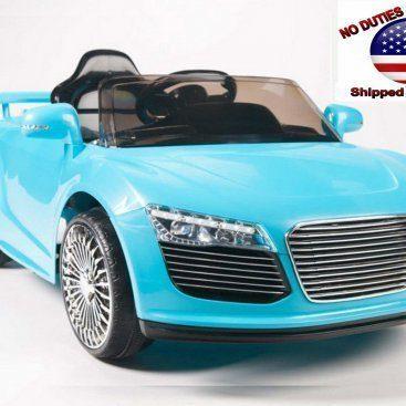 Kids Vip Audi R8 Style Blue 11 2
