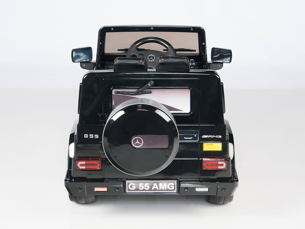 12v Official Mercedes Benz G55 Wagon Amg Ride On Car Black