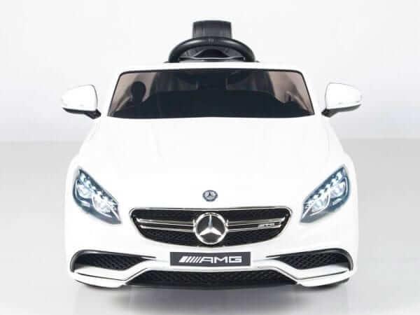Mercedes S63 White 1