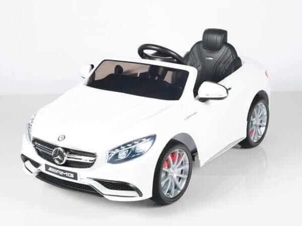 Mercedes S63 White 19