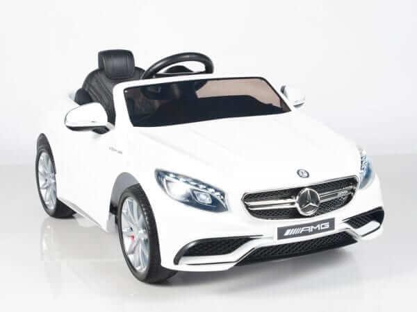 Mercedes S63 White 3