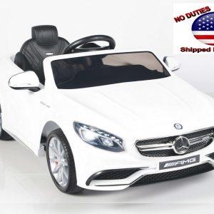 Mercedes S63 White 4 1