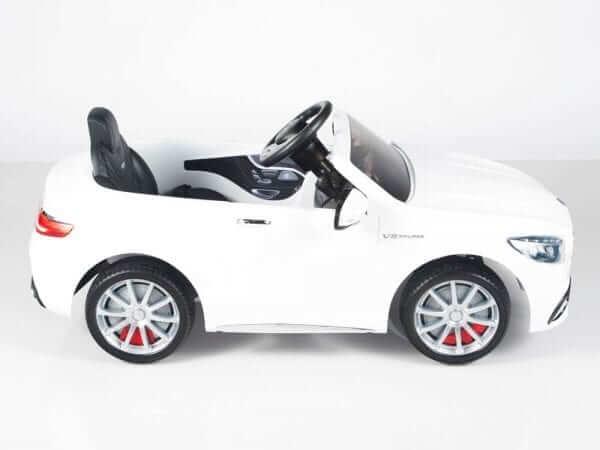 Mercedes S63 White 7