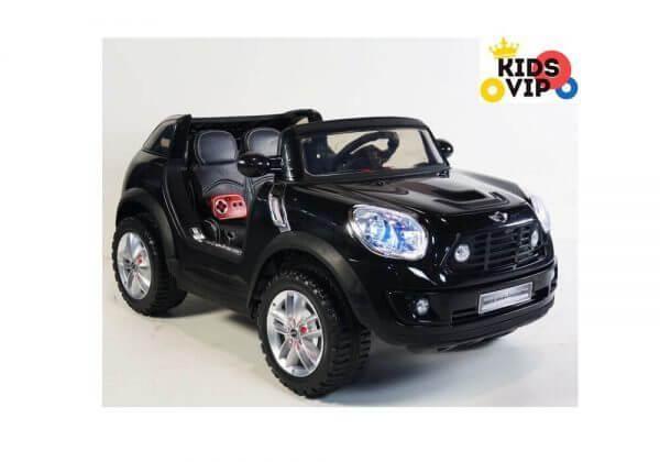 Kids Official 2 Seats 12V Mini Cooper XL Ride On Car Black