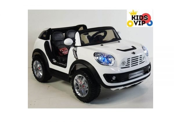 Kids Official 2 Seats 12V Mini Cooper XL Ride On Car White
