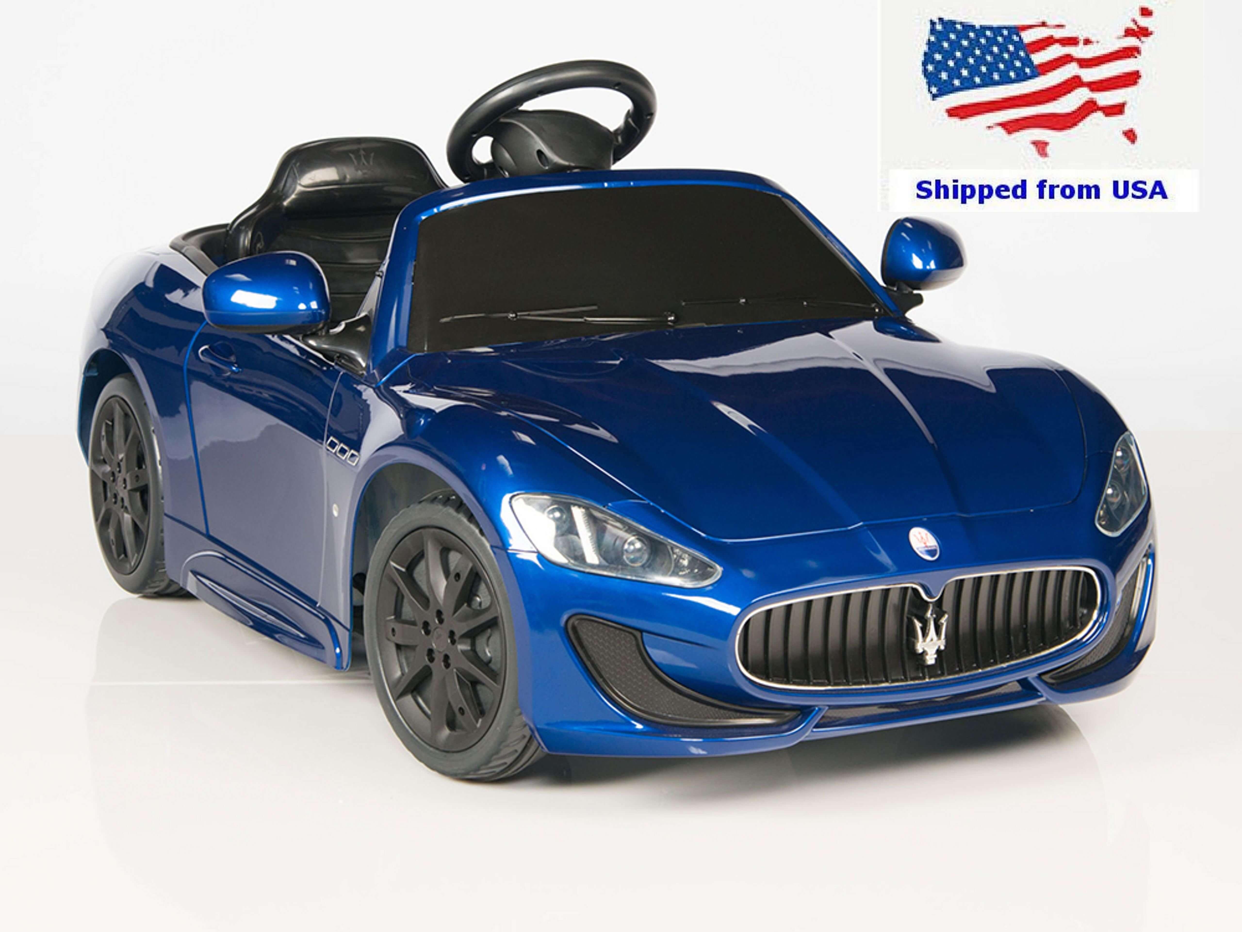 ride 12v cars canada electric remote maserati toys go control
