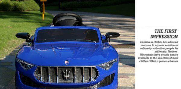 Maserati Sx Blue 20