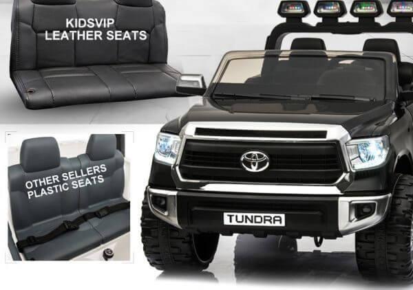 KIDSVIP TOYOTA TUNDRA 24V KIDS RIDE ON CAR BLACK 58