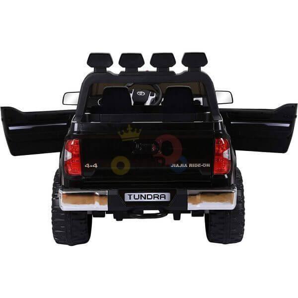 kidsvip 12v toyota tundra kids ride on car 2 seater black 1