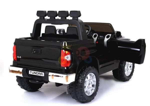 kidsvip 12v toyota tundra kids ride on car 2 seater black 15