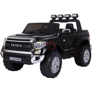 kidsvip 12v toyota tundra kids ride on car 2 seater black 2