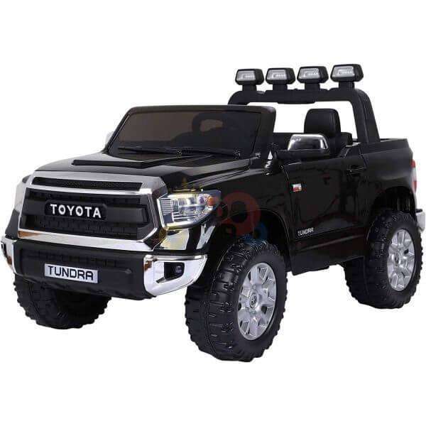 kidsvip 12v toyota tundra kids ride on car 2 seater black 2