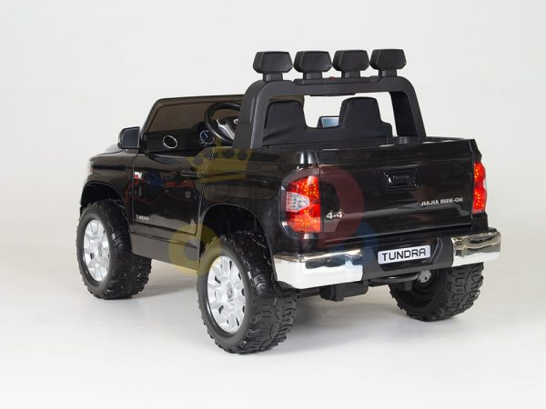 kidsvip 12v toyota tundra kids ride on car 2 seater black 6