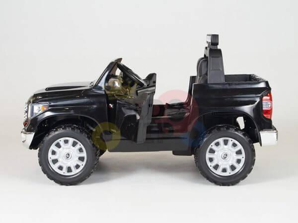 kidsvip 12v toyota tundra kids ride on car 2 seater black 7