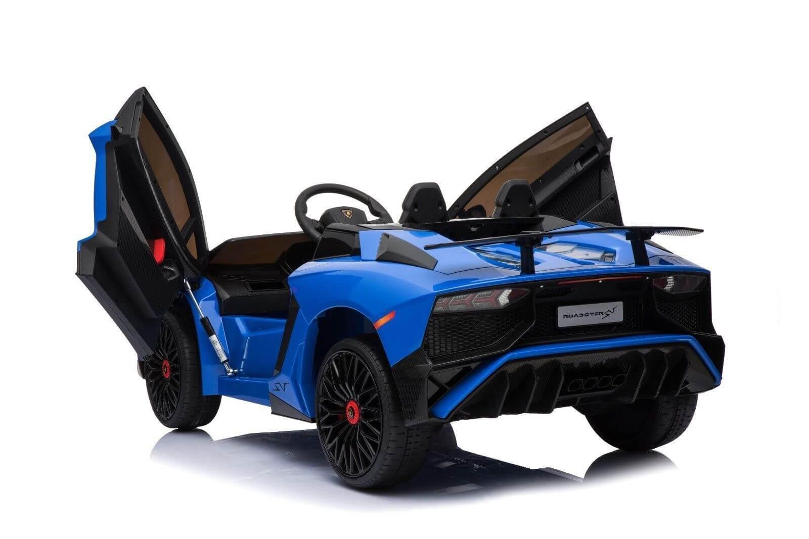 Kids Official Exotic 12V Lamborghini Ride on Car - Blue