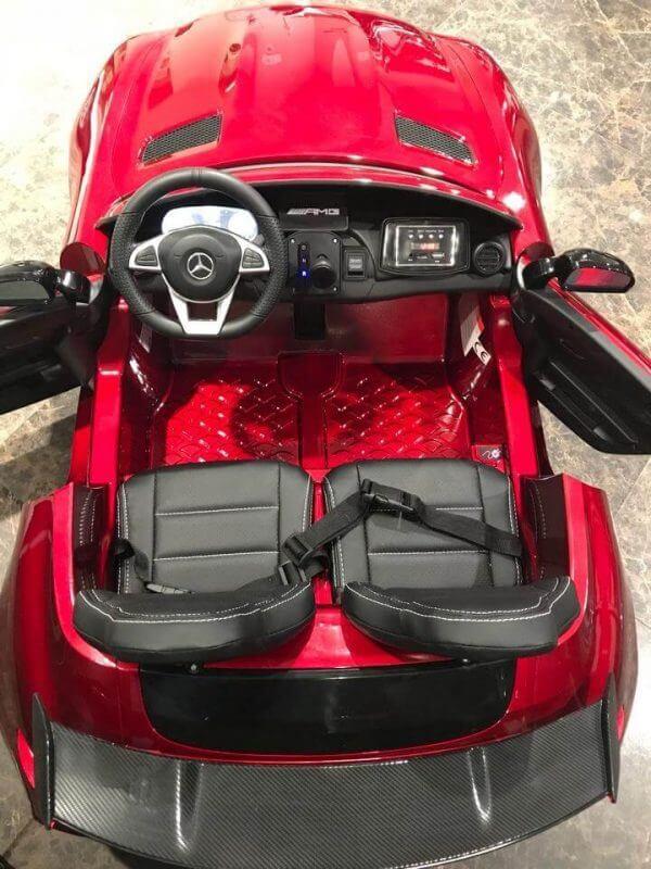 KIDSVIP-MERCEDES GTR-2 SEATS-RED (3)