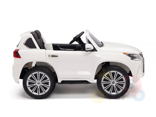 kidsvip lexus kids ride on car 2 seater white 10