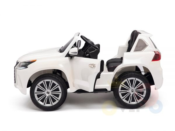 kidsvip lexus kids ride on car 2 seater white 19