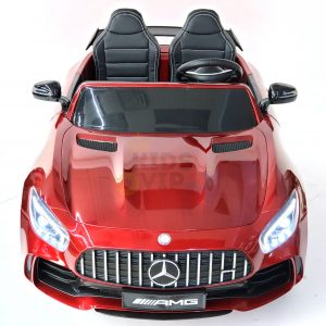 kidsvip mercedes benz gtr 2 seater kids and toddlers ride on car red 1
