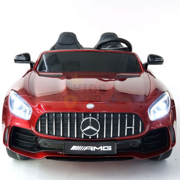 kidsvip mercedes benz gtr 2 seater kids and toddlers ride on car red 2