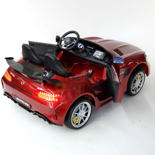 kidsvip mercedes benz gtr 2 seater kids and toddlers ride on car red 26