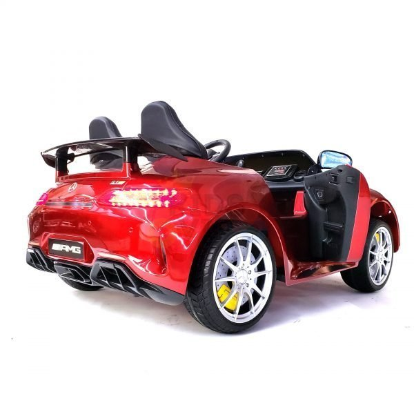 kidsvip mercedes benz gtr 2 seater kids and toddlers ride on car red 30