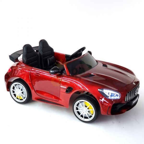 kidsvip mercedes benz gtr 2 seater kids and toddlers ride on car red 34