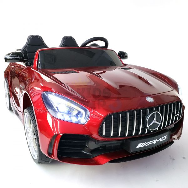 kidsvip mercedes benz gtr 2 seater kids and toddlers ride on car red 39