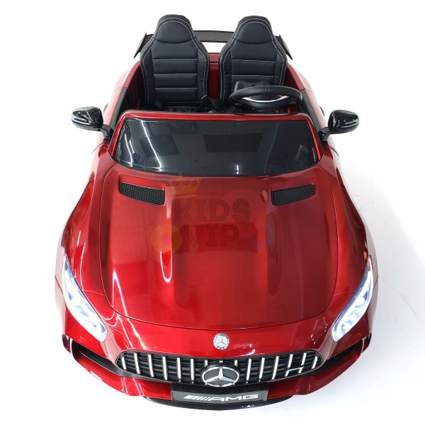 kidsvip mercedes benz gtr 2 seater kids and toddlers ride on car red 4