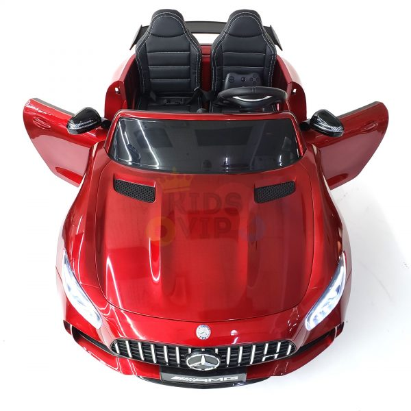 kidsvip mercedes benz gtr 2 seater kids and toddlers ride on car red 5