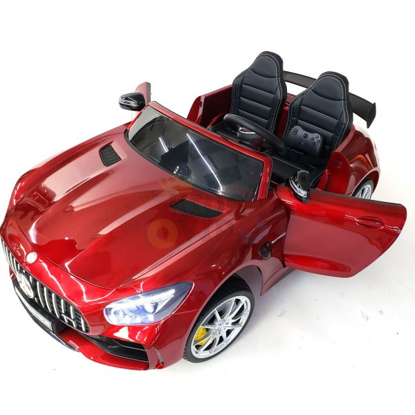 kidsvip mercedes benz gtr 2 seater kids and toddlers ride on car red 6