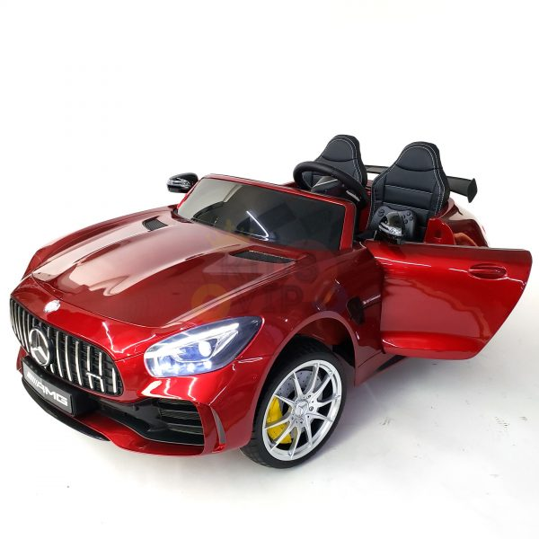 kidsvip mercedes benz gtr 2 seater kids and toddlers ride on car red 7