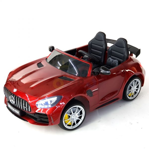 kidsvip mercedes benz gtr 2 seater kids and toddlers ride on car red 9