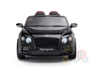 KIDSVIP BENTLEY KIDS RIDE ON CAR 12V SUPERSPORT black 1