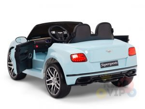 KIDSVIP BENTLEY KIDS RIDE ON CAR 12V SUPERSPORT blue 11