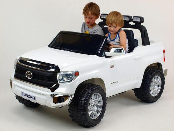 KIDSVIP TOYOTA TUNDRA 24V KIDS RIDE ON CAR WHITE 3