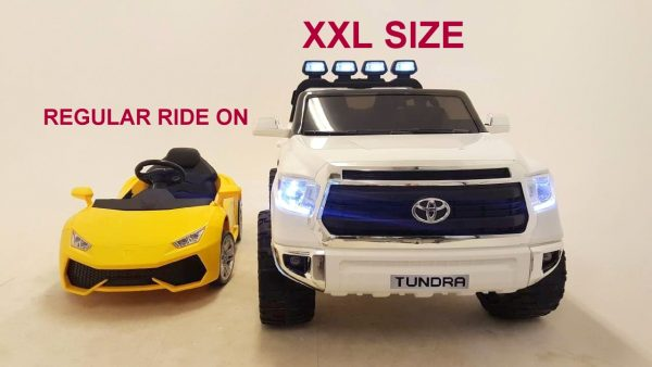 KIDSVIP TOYOTA TUNDRA 24V KIDS RIDE ON CAR WHITE 39