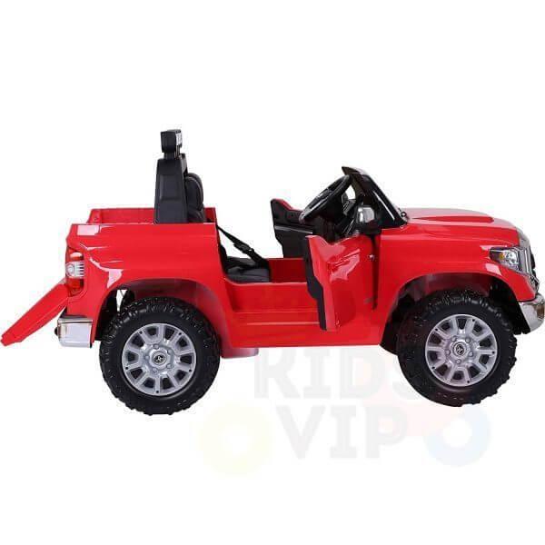 kidsvip 12v toyota tundra kids ride on car 2 seater red 13